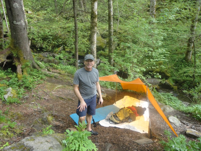 Otters Creek Campsite on Maddron Bald Trail