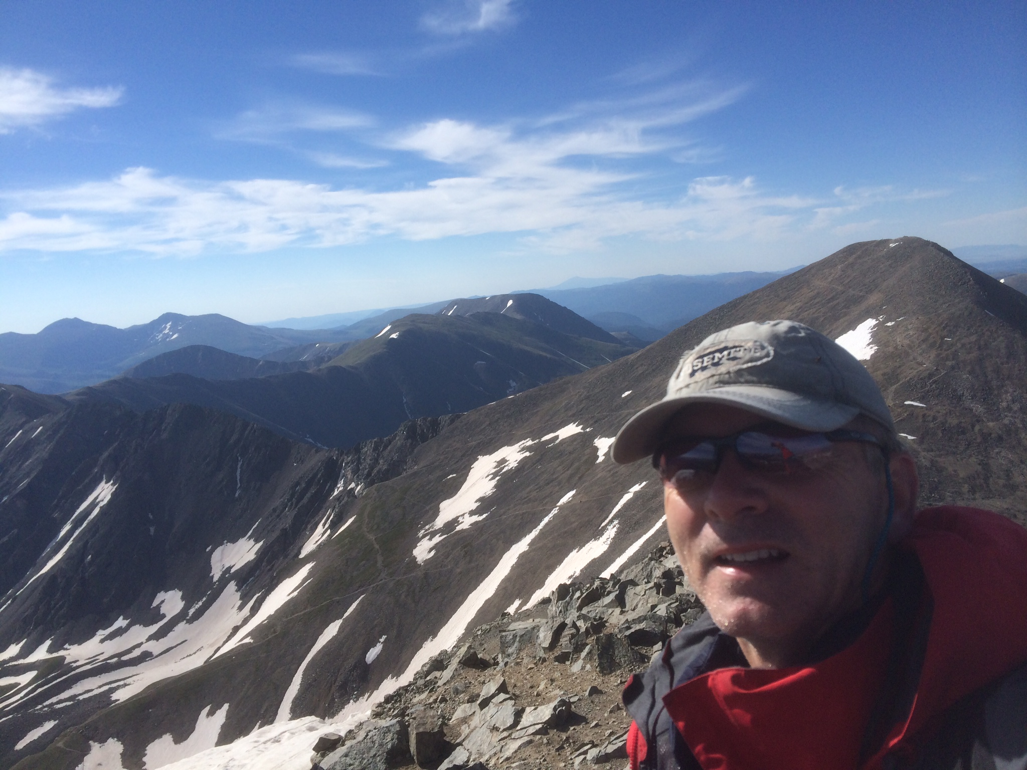 Grays and Torreys Peak 14'er Climb - Uphillhike