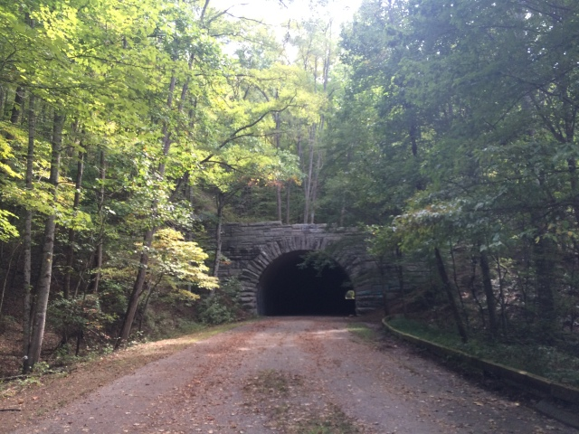 "The Tunnel on the ""Road to Nowhere""."