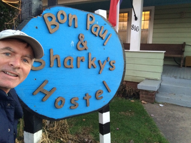 Bon Paul & Sharky's Hostel in West Asheville.