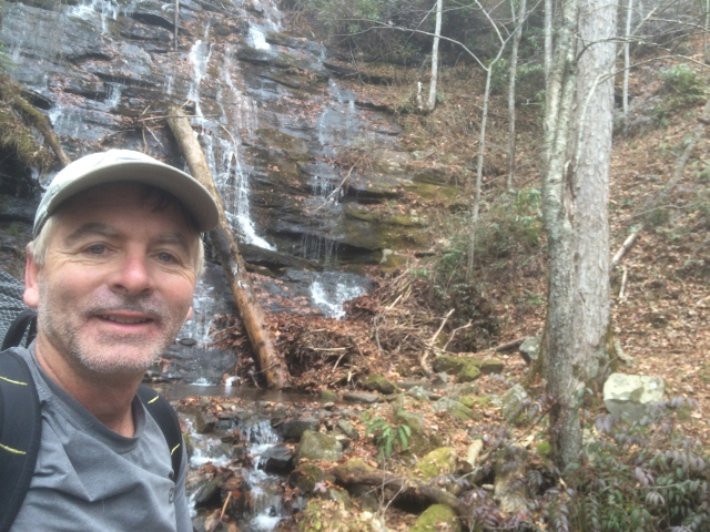 Here I am at Little Creek Falls. I also hiked to Crooked Arm Falls, Gatlinburg Falls, and Laurel Creek Falls and on this trip.