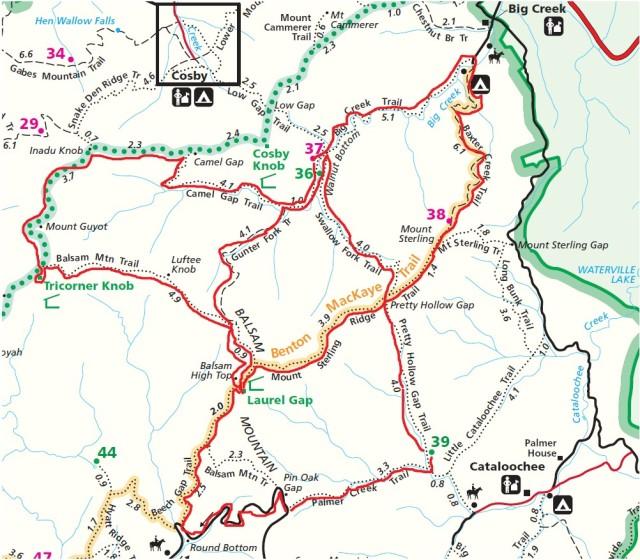 Sterling Ridge and Big Creek Hike